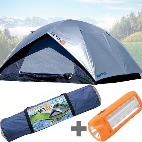 Barraca acampamento camping 6 pessoas impermeável +