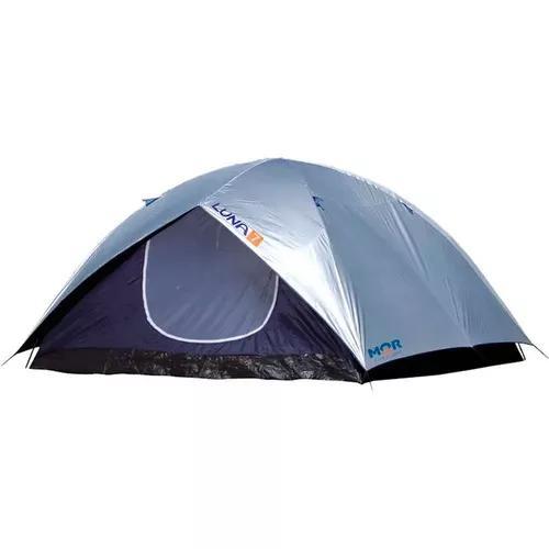 Barraca camping iglu luna 7 pessoas grande sobreteto