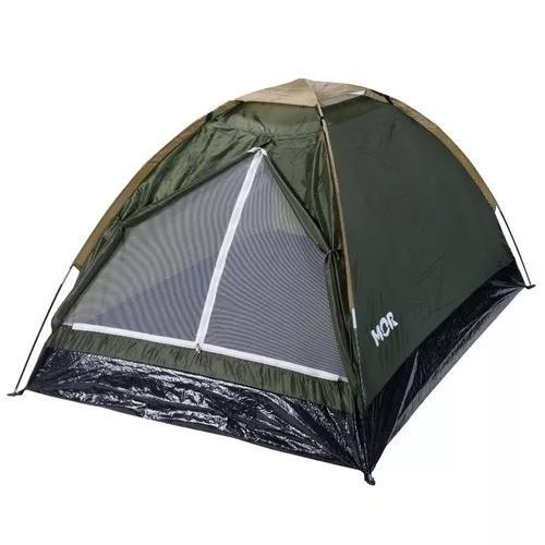 Barraca p/ camping 2 pessoas iglu eco mor 2.06 x 1.45 x 1.00