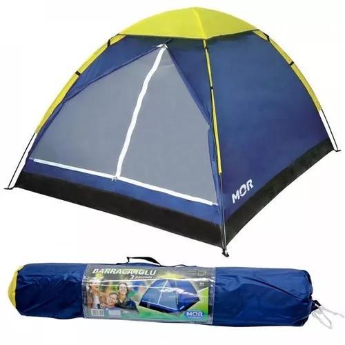 Barraca p/ camping iglu mor 3 pessoas s