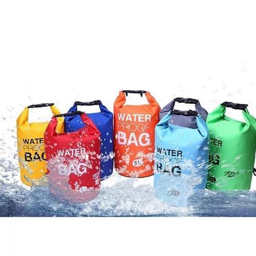 Bolsa saco estanque a prova d'água 5 litros 5cores