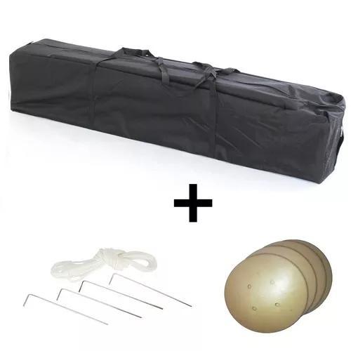 Bolsa transporte tenda + kit de fixação