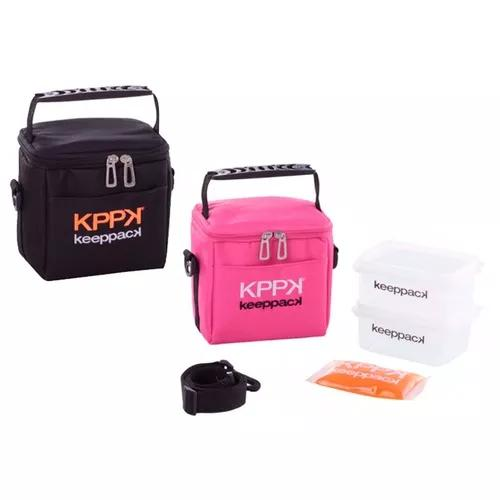 Bolsa térmica keeppack mini preta acad