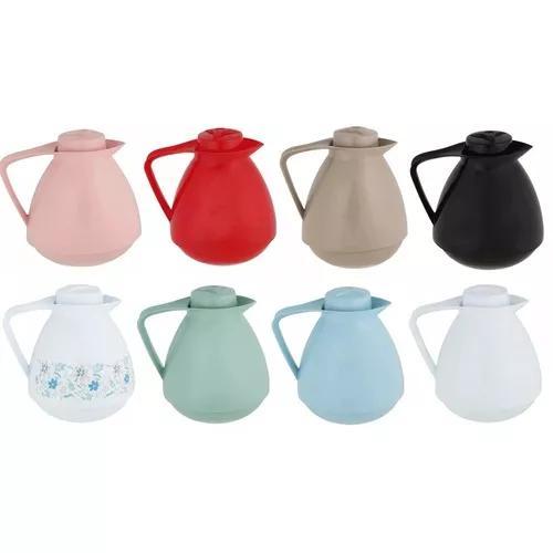 Bule térmico amare café 650ml varias cores mor quente