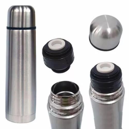 Garrafa térmica 500ml aço inox inquebrável com vacuum