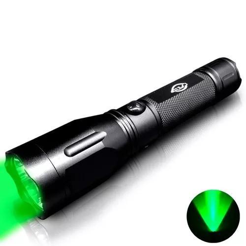 Lanterna de caça luz verde - cy-6622