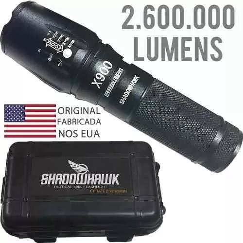 Lanterna tatica militar shadowhawk x900 original so hoje !
