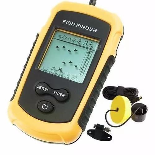 Sonar portátil com sonda ultra-sônica para pesca fish