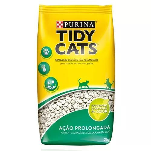 Areia nestlé purina tidy cats para gatos - 2kg - 1 unidade