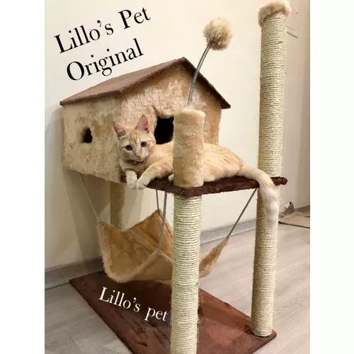 Arranhador de gato casa com rede retirar