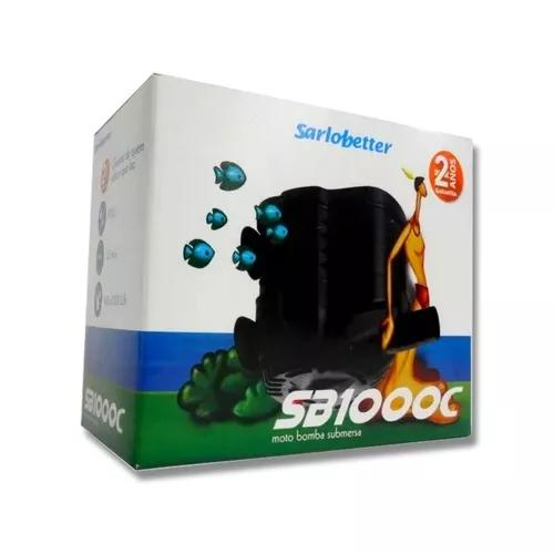 Bomba submersa sarlo better sb 1000c 220 v (com nota fiscal)