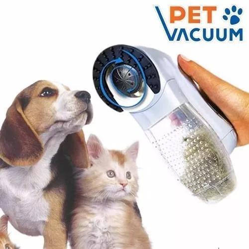 Escova aspirador sugador retira pelo cachorro gato cão pet
