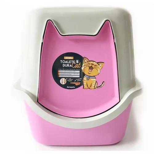 Kit 2 caixa de areia fechada gato wc promoção