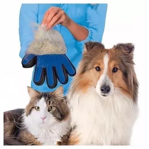 Luva tira pelos de animais pets bravec gato