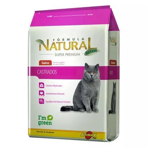 Ração adimax pet formula natural para gatos castrados - 7
