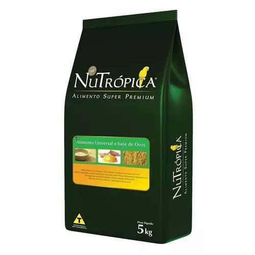 Ração nutrópica farinhada universal à base de ovos - 5kg