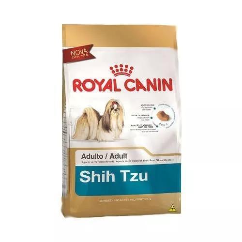 Ração royal canin para cães adultos shih tzu 7.5kg