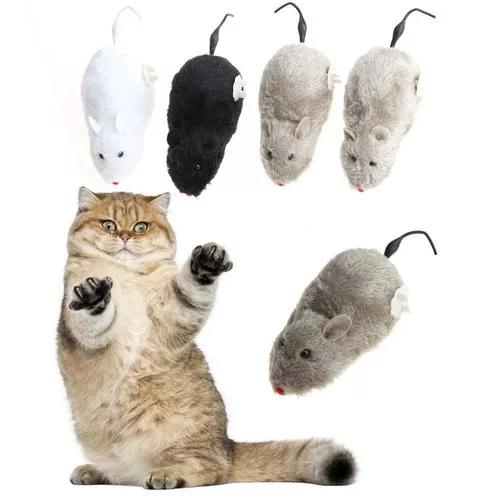 Rato de brinquedo para pet gato