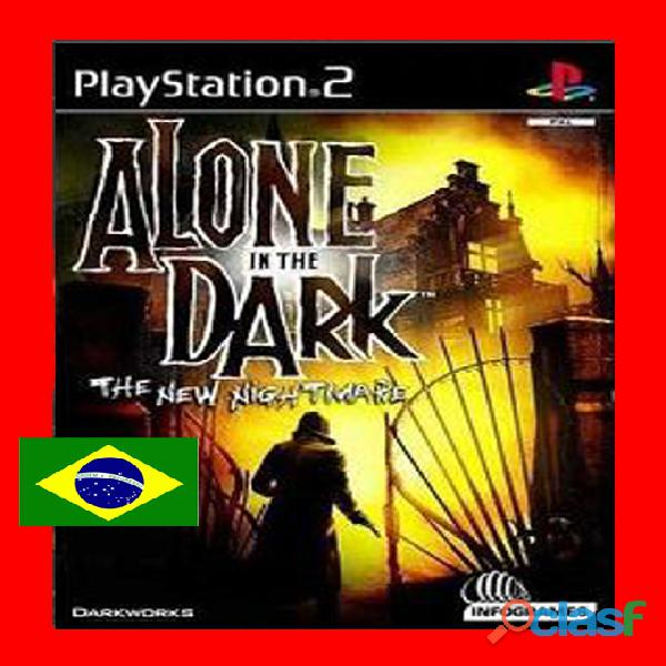 Alone in the dark iv: the new nightmare dublado pt br   ps2