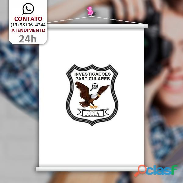 Detetive particular iccta agência de investigações 19 98106 4244