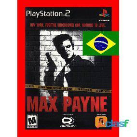 Max Payne Dublado PT BR   PS2