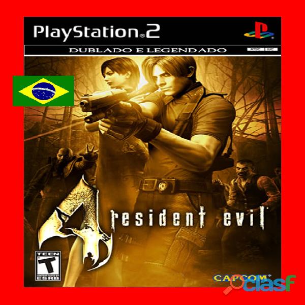 Resident evil 4 dublado pt br   ps2