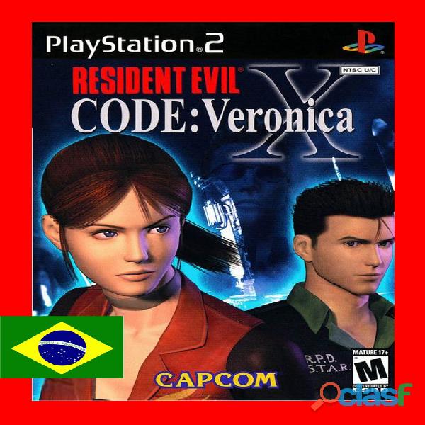 Resident Evil Code: Veronica Legendado PT BR PS2