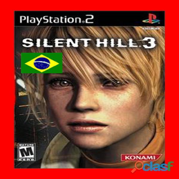 Silent Hill 3 Dublado em PT BR PS2