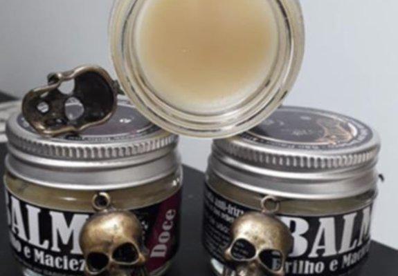 Cavegur balm e óleo pra barba.