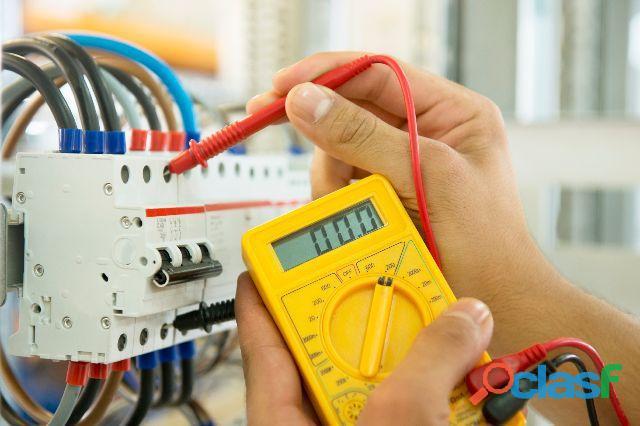 Eletricista residencial,predial e industrial ?
