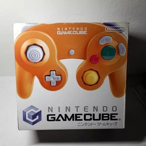 Caixa Console Game Cube Nintendo Laranja Japonês Original