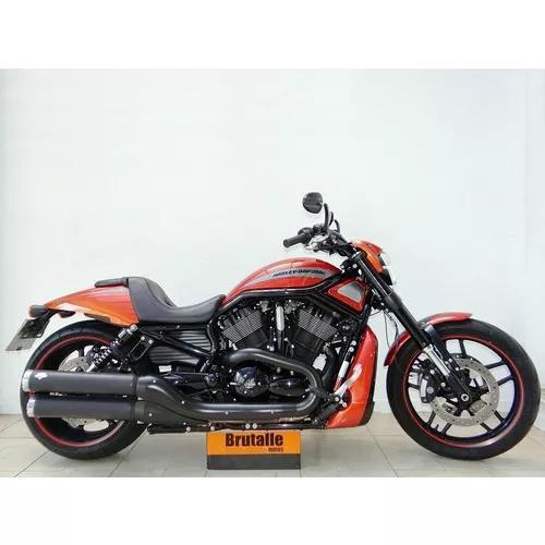 Harley davidson night rod special vrscdx 2012 laranja