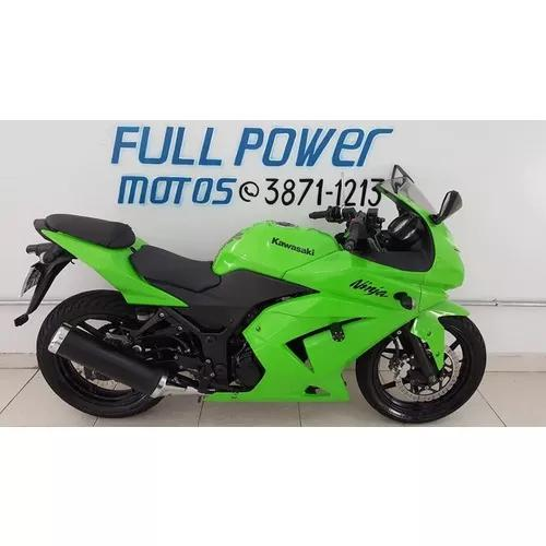 Kawasaki ninja 250r 2011/11 verde