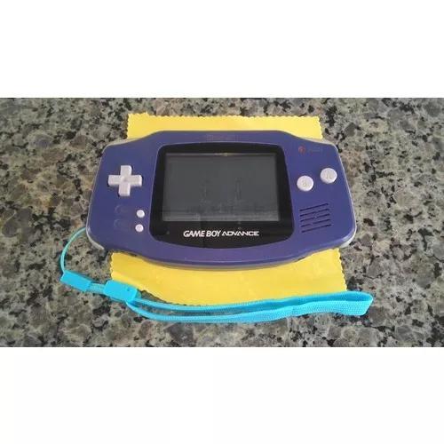 Nintendo game boy advance - cor roxo (s