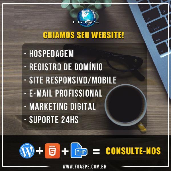 Serviços de webdesign