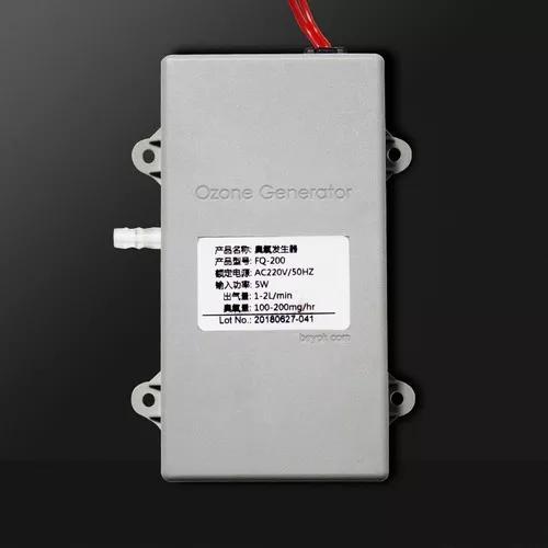 Gerador de ozônio 200 mg água ar 220 v
