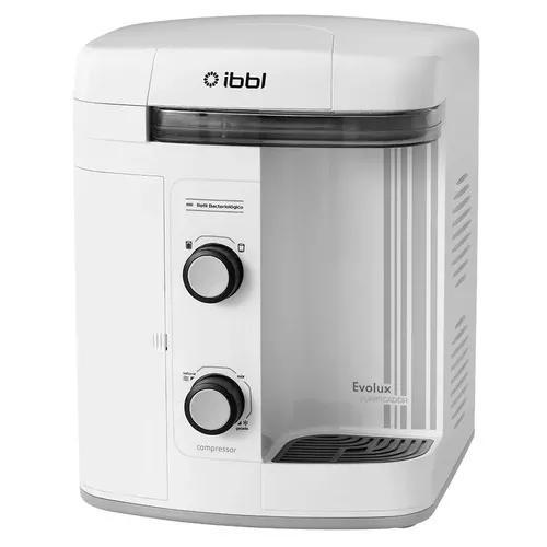 Purificador água gelada refrigerado compressor ibbl evolux