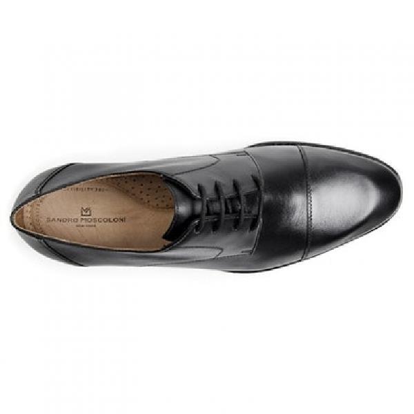 Sapato social masculino derby sandro moscoloni romana preto
