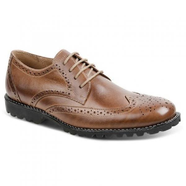 Sapato social masculino oxford sandro moscoloni brot marrom