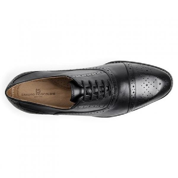 Sapato social masculino oxford sandro moscoloni italian