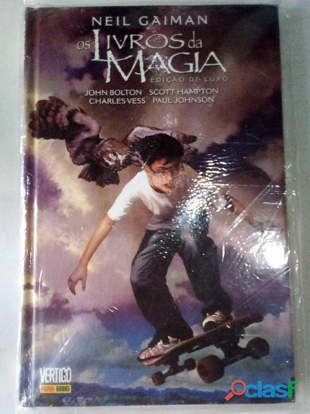 Os livros da magia (edição de luxo)