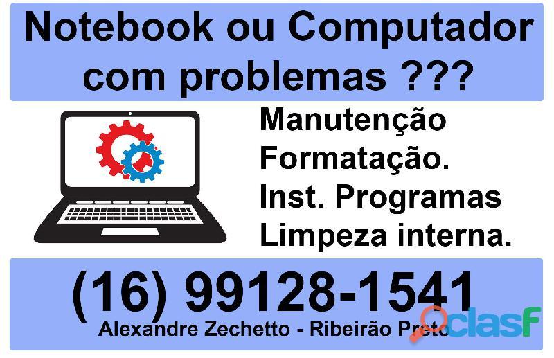 Ribeirão notebook assistência técnica em informática