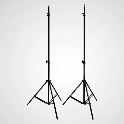 2x tripé p/ iluminação até 2 metros ys302 / 803