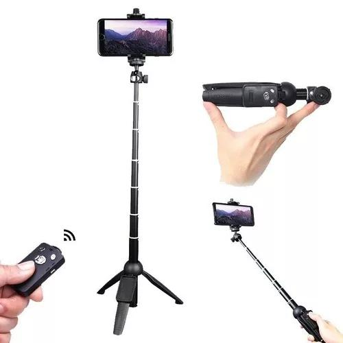 Bastão de selfie e tripe para celular