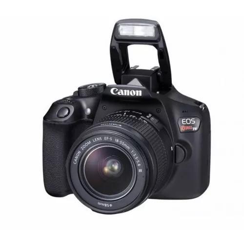 Câmera digital canon eos rebel t6 18mp (2 meses de uso)