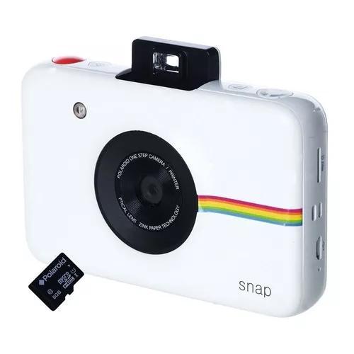 Câmera digital instantânea polaroid snap com filme e
