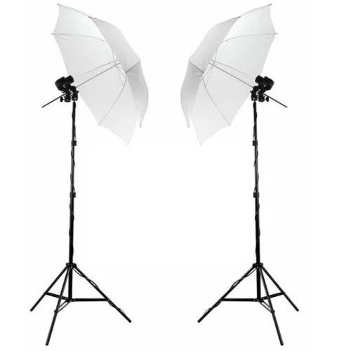 Kit de iluminação luz continua estudio fotografico soq
