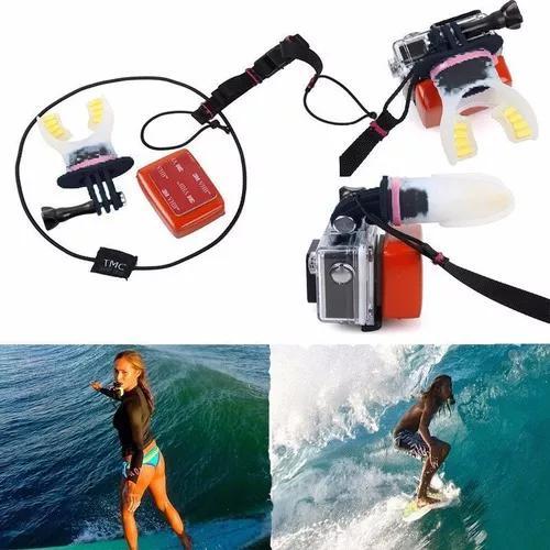 Kit suporte bocal boca surf skate compatível gopro