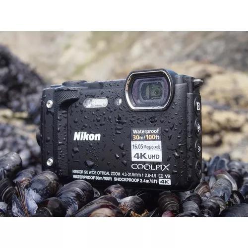 Nikon coolpix w300, uma compacta 4k à prova dágua