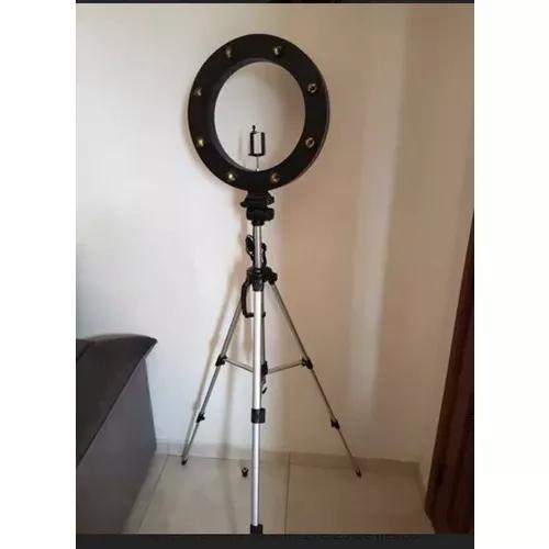 Ring light mega selfie maquiag